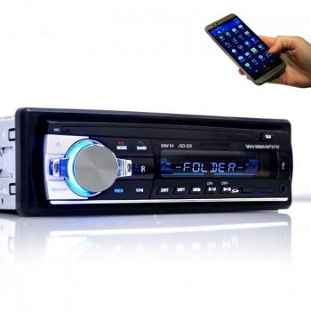 Hot Fashion Bluetooth 12 V USB SD MMC WMA Car MP3 Player With Radio Receiver