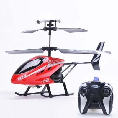Hotsale New Remote Control Electric LED Head Light Outdoor Helicopter Toys