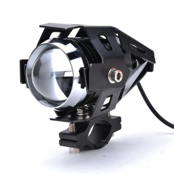 New Motorcycle CREE 125W U5 LED Driving Fog Head Spot Light White Lamp Headlight