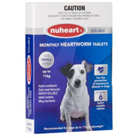 Nuheart Generic Heartgard for Small Dogs