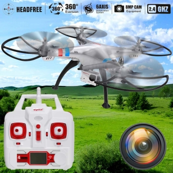 Syma X8G 2.4Ghz 6-Axis Gyro 4.5CH RC Quadcopter Drone with 8.0MP HD Camera EU Plug