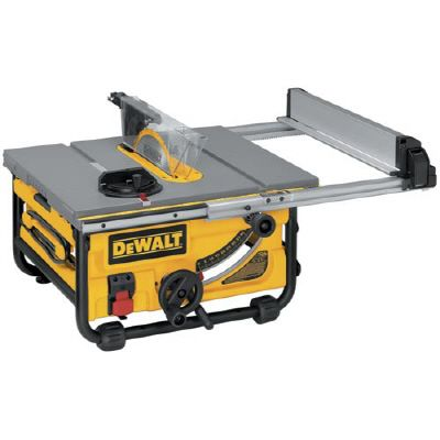 DEWALT 15 Amp Job Site Table Saw