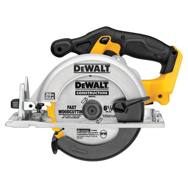 DEWALT MAX 20V Lithium-Ion 6 1/2-inch Cordless Circular Saw