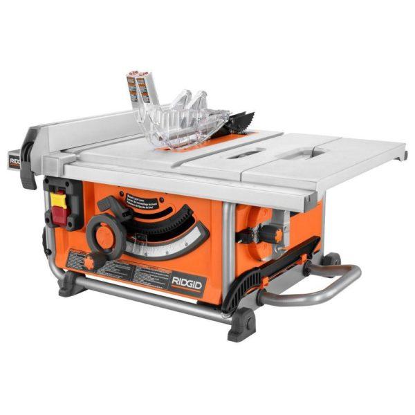 RIDGID 10-inch 15 amp Compact Table Saw