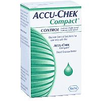 Accu-Chek Compact Hi Low Glucose Control Solution